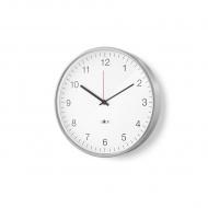 Zegar ścienny 30cm Zack Palla srebrno-biały