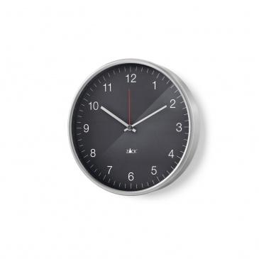 Zegar ścienny 30cm Zack Palla szaro-czarny