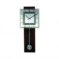 Zegar ścienny 32x80 cm Nextime Retro Pendulum kwadratowy