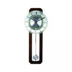 Zegar ścienny 32x80 cm Nextime Retro Pendulum okrągły
