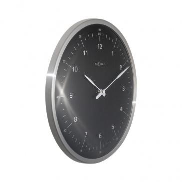 Zegar ścienny 33 cm Nextime 60 Minutes czarny