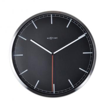 Zegar ścienny 35 cm Nextime Company czarny