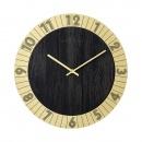 Zegar ścienny 35 cm Nextime Flare złoty