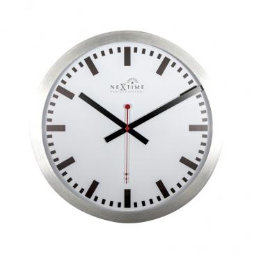 Zegar ścienny 35 cm Nextime Station RCC