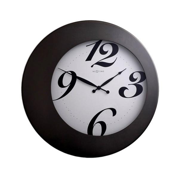 Zegar ścienny 35 cm Nextime Walter 2946