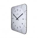 Zegar ścienny 35x35 cm Nextime Alex RC biały