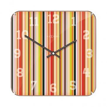 Zegar ścienny 35x35 cm Nextime Smithy Dome Square