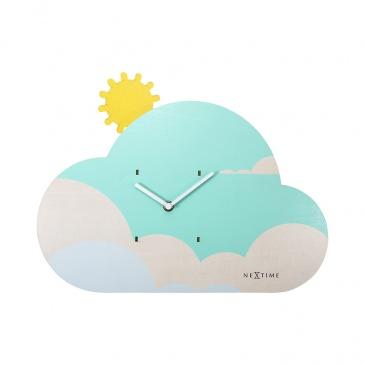 Zegar ścienny 37x29 cm Nextime Cloudy