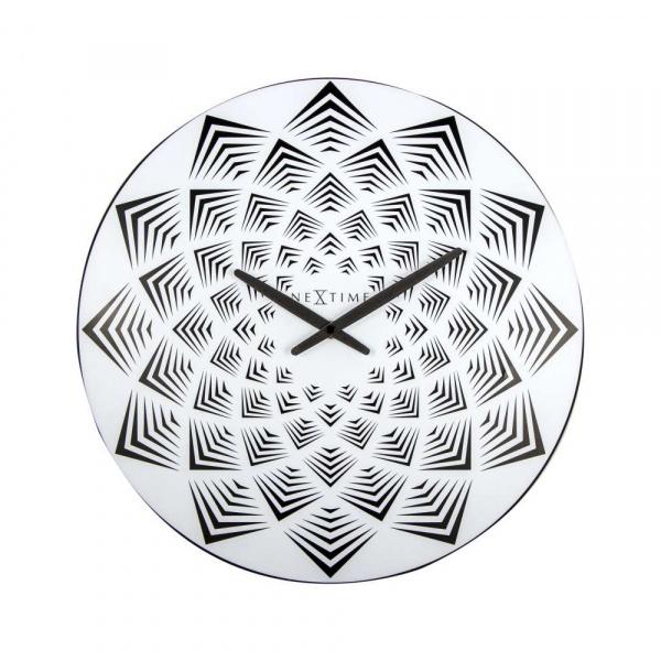 Zegar ścienny 39,5 cm NeXtime Bloom 3130