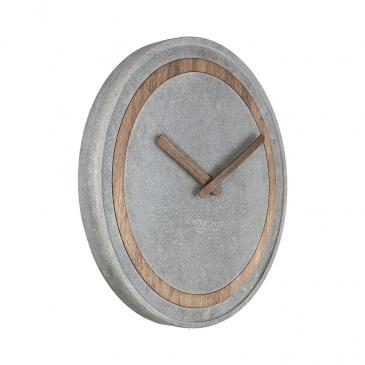 Zegar ścienny 39,5 cm Nextime Concreto czary