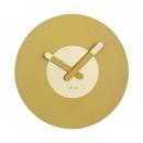 Zegar ścienny 39,5 cm Nextime In Touch złoty