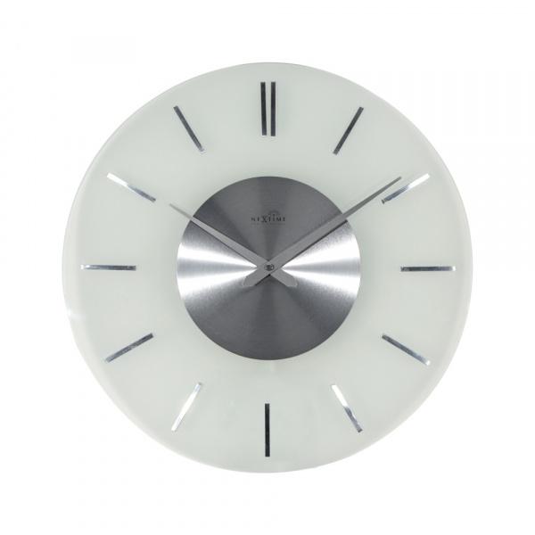 Zegar ścienny 40 cm NeXtime Stripe Radio Controlled 3147