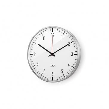 Zegar ścienny 40cm Zack Vedere srebrno-biały