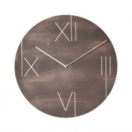 Zegar ścienny 43 cm NeXtime Galileo brązowy