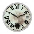 Zegar ścienny 43 cm Nextime Romana biały 8162