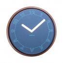 Zegar ścienny 50 cm Nextime Calmest niebieski