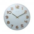Zegar ścienny 50 cm Nextime Classy biały 3105WC