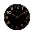 Zegar ścienny 50 cm Nextime Classy czarny 3105BC