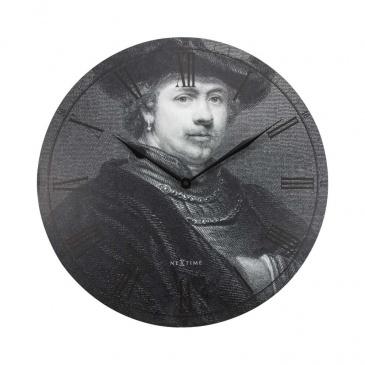 Zegar ścienny 50 cm Nextime Rembrandt