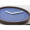 Zegar ścienny 50cm Nextime Calmest niebieski