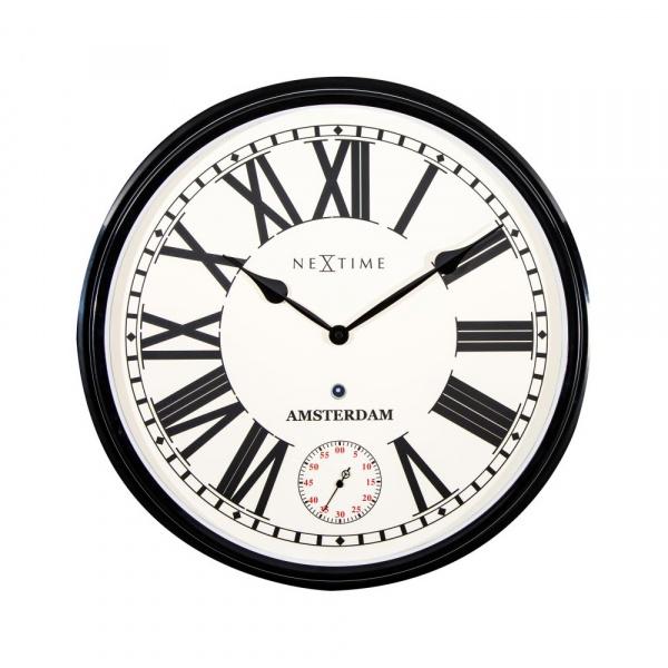 Zegar ścienny 51,6 cm NeXtime Amsterdam 3128ZW