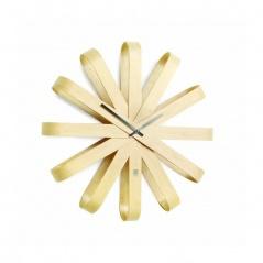 Zegar ścienny 51cm Umbra Ribbon naturalny