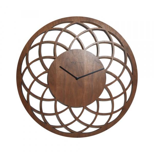 Zegar ścienny 60 cm NeXtime Dreamcatcher Big brązowy 3115BR