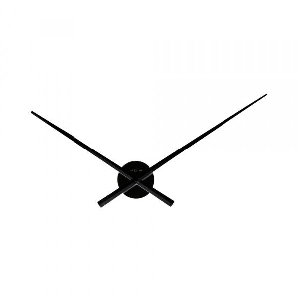 Zegar ścienny 70 cm Nextime Hands czarny 3118ZW