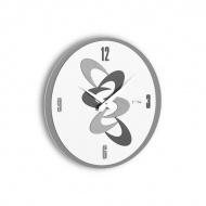 Zegar ścienny Adsum Incantesimo Design szary