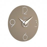 Zegar ścienny Incantesimo Design Diem srebrny jasny