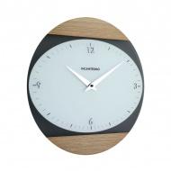 Zegar ścienny Incantesimo Design Logical jesion jasny