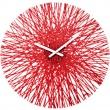 Zegar ścienny Koziol Silk czerwony KZ-2328536