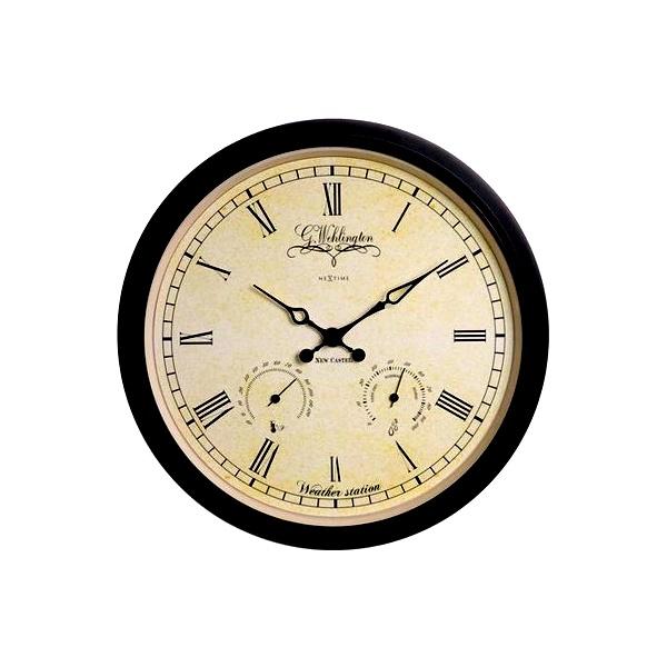 Zegar ścienny NEXTIME Altje Weather Station 25 cm 2969