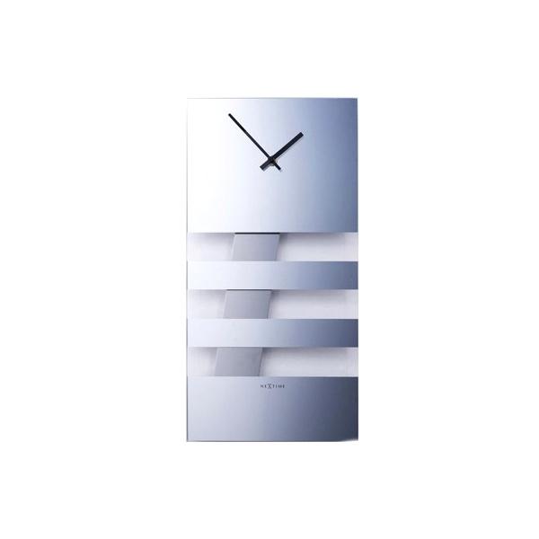 Zegar ścienny NEXTIME Bold Stripes 2855MI