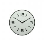 Zegar ścienny Nextime Shuwan biały