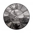 Zegar ścienny Nextime Venice czarno-biały 3106