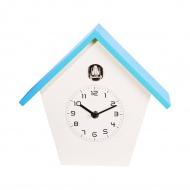 Zegar ścienny z kukułką NeXtime Birdy niebieski