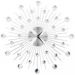 Zegar ścienny z mechanizmem kwarcowym, nowoczesny design, 50 cm