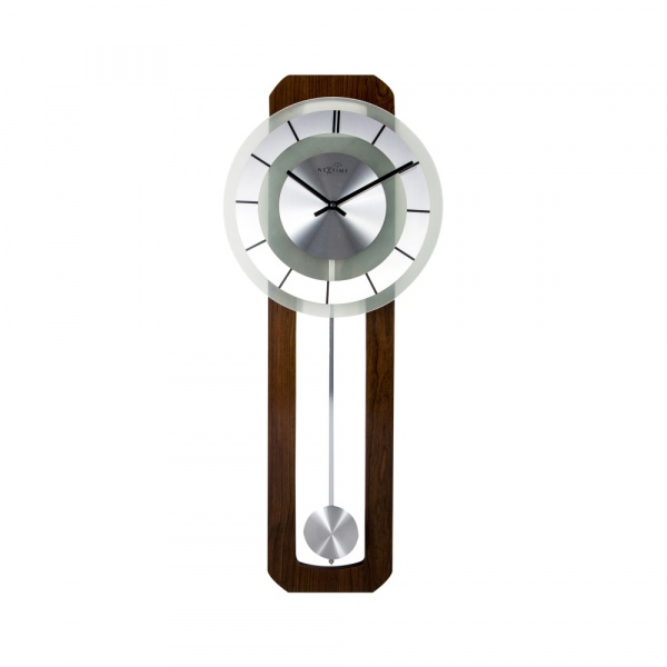 Zegar ścienny z wahadłem NeXtime Retro Pendulum RC 3143
