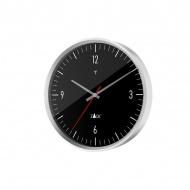 Zegar sterowany radiowo 30 cm Zack Vida czarny