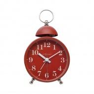 Zegar stojący 16x9,2 cm Nextime Single Bell czerwony