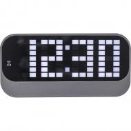Zegar stojący 8,5 x 17,5 cm Nextime Loud Alarm czarny