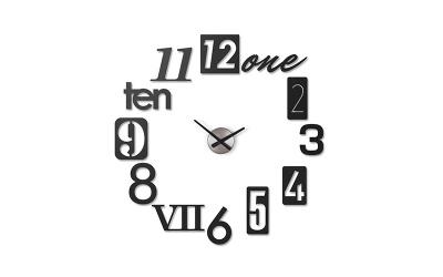 Zegar Umbra Numbra - zegar przyklejany na ścianę