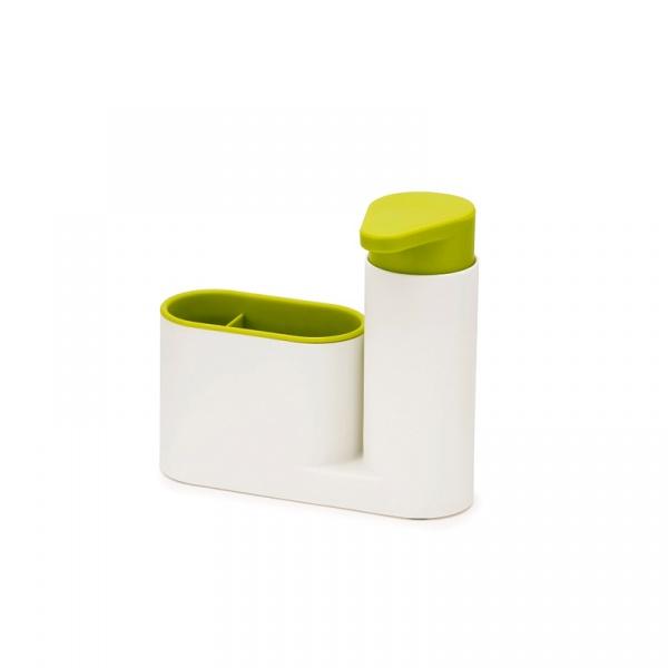 Zestaw 2 częściowy do organizera zlewu SinkBase Joseph Joseph biało-zielony 85081