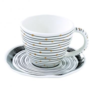 Zestaw 2 filiżanek espresso Nuova R2S Organic linie