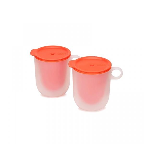 Zestaw 2 kubków do kuchenki mikrofalowej Joseph Joseph 45012