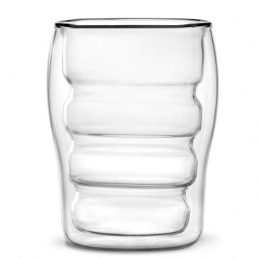 Zestaw 2 szklanek z podwójną ścianką Bolla 300 ml