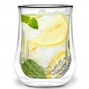 Zestaw 2 szklanek z podwójną ścianką Diamante 300 ml