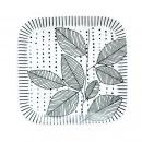 Zestaw 2 talerzyków z porcelany 11x11 cm Nuova R2S Organic