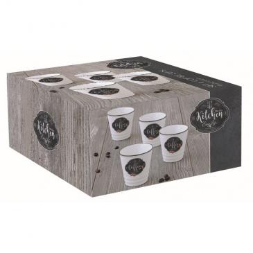 Zestaw 4 filiżanek espresso Nuova R2S Kitchen Basics